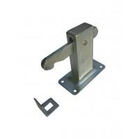 Doorholdopen heavy-duty with catchingeye wallmodel steel lacquerd