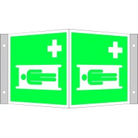 Medical strecher sign