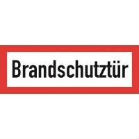 """Fire door sign """"Brandschutztür"""""""
