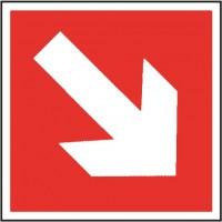 Directional arrow diagonal