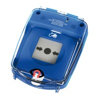 GfS e-Cover® B with alarm, surface, blue (135x135mm)