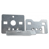 Cover for the screw holes when mounting GfS e-Bar on wood doors