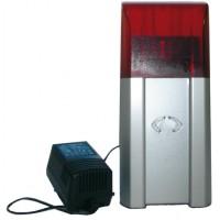 Radio-alarm-flashlight