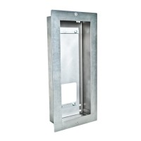 Mounting frame for flush mounting, Door Terminal V2A