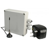 Radio signal junction box for max. 32 GfS Safetyproducts, 868 Mhz