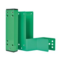 GfS Combination spacer mounting set 60mm, Din right, green RAL 6029