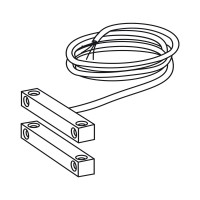 Reed Contact surface mounting, 2m cable
