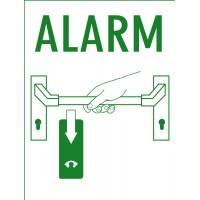 "Sticker for GfS Exit Control 1125 ""Alarm"""