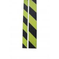Anti-slip stripe ''SaftyWalk'' black/yellow